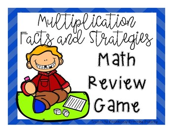 Multiplication Strategies and Facts Math Review Game