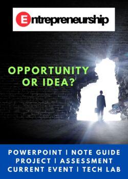 Entrepreneurship Chapter 4 Opportunity or Idea