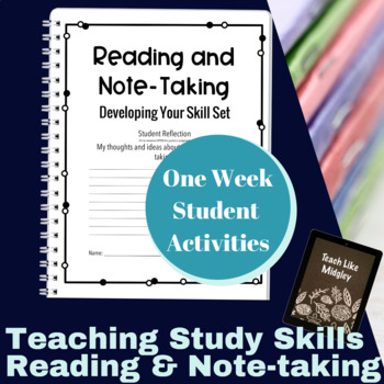 Study Skills Course Curriculum - Reading & Note-taking Skills