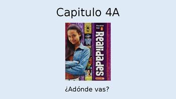 Chapter 4A Realidades Ir a Conjugation