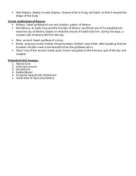 AP Art History Unit 4 (Ancient Greece) Study Guide