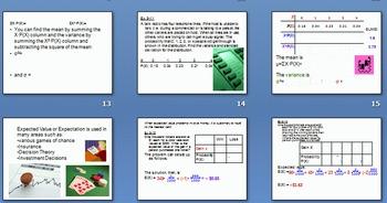 Chapter 5 Discrete Probability Distributions PowerPoint Presentation Bundle