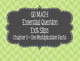 Chapter 5 Go Math Exit Slips