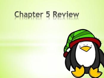 Go Math! First Grade Chapter 5 Review