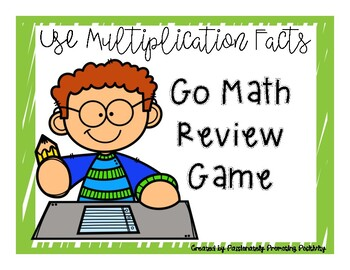 Grade 3 Use multiplication strategies and facts Math review game