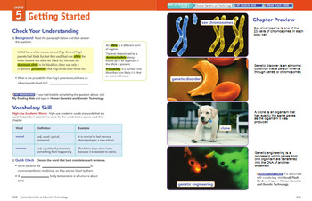 Chapter 5 MS Science Modified Textbook Resources