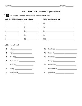 Chapter 5 Vocab Quiz (Family)
