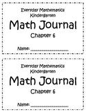 Chapter 6 Everyday Math Kindergarten Journal