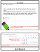 Chapter 6 Go Math Review Packet, 4th Grade