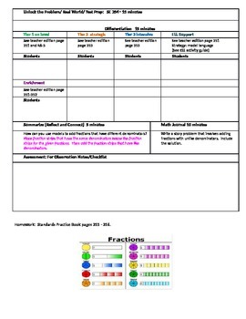 Chapter 6 Lesson 1 Grade 5 Go Math Lesson Plan