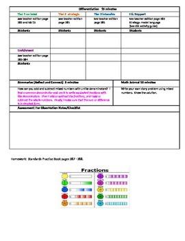 Chapter 6 Lesson 6 Grade 5 Go Math Lesson Plan