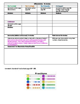 Chapter 6 Lesson 6 Grade 5 Go Math Lesson Plan
