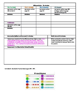 Chapter 6 Lesson 7 Grade 5 Go Math Lesson Plan