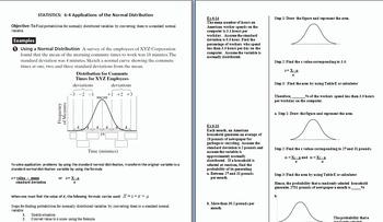 Chapter 6 Normal Probability Distribution Bundle
