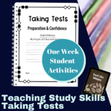 Study Skills Course Curriculum - Taking Tests