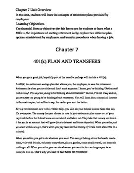Chapter 7 401k money management