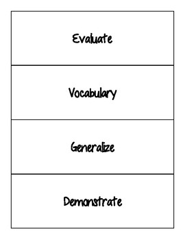 Chapter 7: A Young Nation Grows (TEKS) Extension and Checks for Understanding