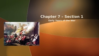 Chapter #7 - Creating America Guided Notes