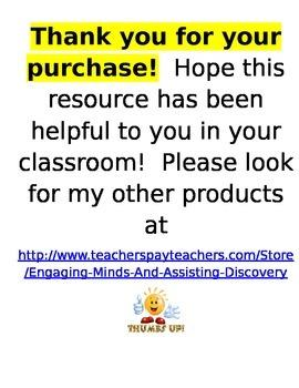 Chapter 7 Lessons 1-10 Bundled Go Math Lesson Plans