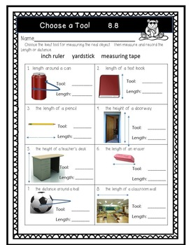 Go Math!  Chapter 8 Second Grade Supplemental Resources-Common Core