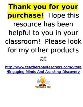 Chapter 8 Lessons 1-5 Bundled Go Math Lesson Plans