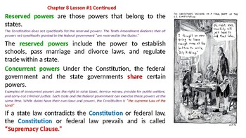 McGraw Hill US History Chapter 8 Powerpoint