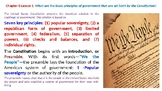"McGraw Hill US History Chapter 8 Powerpoint ""The Constitution"""