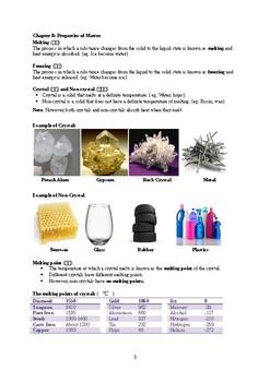 Chapter 8 Properties Of Matter