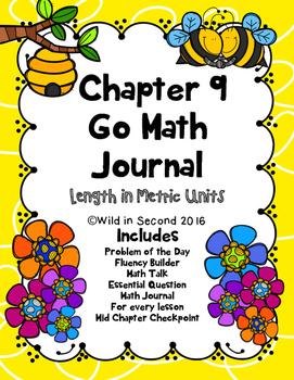 Chapter 9 Go Math Journal Second Grade