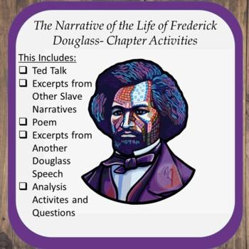 Chapter Activities for Frederick Douglass