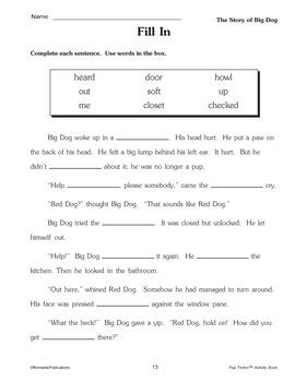 Chapter Book & Activities - Pup Fiction Adventures: Big Dog