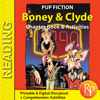Chapter Book & Activities - Pup Fiction Adventures: Boney & Clyde