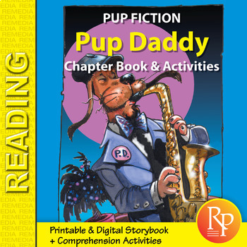 Chapter Book & Activities - Pup Fiction Adventures: Pup Daddy