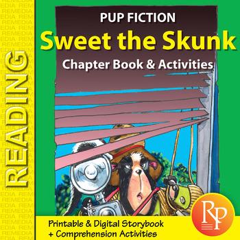 Chapter Book & Activities - Pup Fiction Adventures: Sweet the Skunk