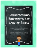 Chapter Book Bookmark for Comprehension