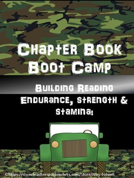 Chapter Book Boot Camp