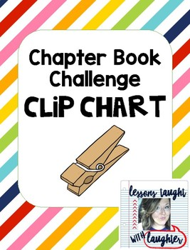 Chapter Book Challenge Clip Chart