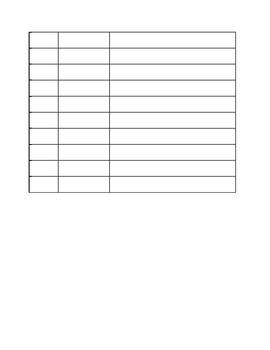 Chapter Book Information Worksheet