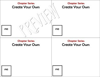 Chapter Series Labels for the Library