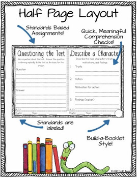 Chapter Book Reading Comprehension Checks