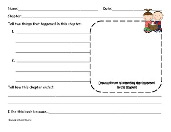 Chapter Book Reading Response Activities