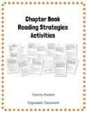 Chapter Book Reading Strategies Activities