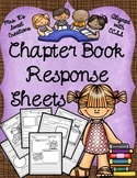 Chapter Book Response Sheets
