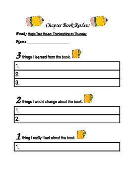 Chapter Book Review