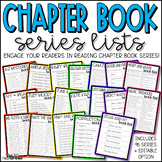 Chapter Book Series Lists