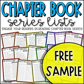 Chapter Book Series Lists - Free Sample!
