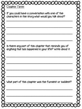 Chapter Book Study