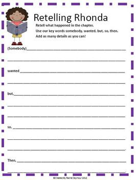 Chapter Book and Picture Book Literature Circle Packet