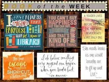 Chapter Book Of The Week 36 Books 4th 8th Grade Tpt