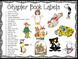 Chapter Books Library Labels